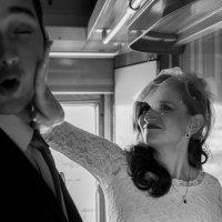 Серия фотографий молодожёны в поезде :: Марина Счастливая