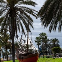Испанская каравелла, Лас Пальмас, Столица Гран Канария :: Witalij Loewin
