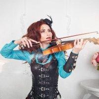Во мне звучит Скрипка... :: Мария Дергунова