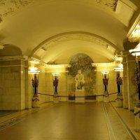 «Пу́шкинская» — станция Петербургского метрополитена :: Светлана