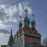 Храм святого Григория Неокесарийского в Дербицах (Москва) :: Юрий Поляков