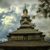 Шелестовская церковь Архангела Михаила :: Александр Бойко