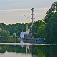 Чесменская колонна и Турецкая баня в Пушкине :: Елена