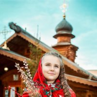 Вербное Воскресенье :: Ярослава Громова