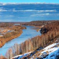 река Клязьма весной :: Sergey Romanov