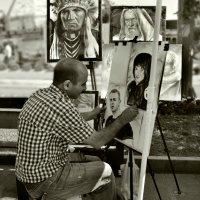 Уличный художник :: Клара