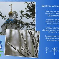 Поздравляю с Вербным воскресеньем! :: Татьяна Смоляниченко