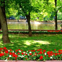 Москва. Чистые пруды. :: Владимир Драгунский