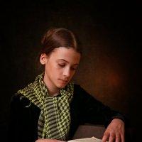 Девочка с книгой :: Римма Алеева