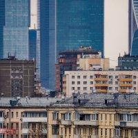 Слоеный городской пирог :: Фотограф Андрей Журавлев