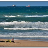 Ветер и море. :: Leonid Korenfeld