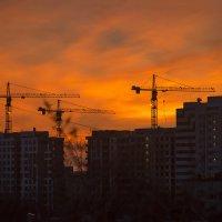 Москва, восход :: Игорь Герман