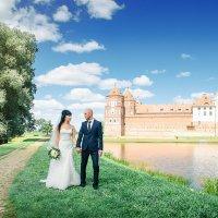 Свадебная фотосесъёмка в Мирском замке :: Александр Тарасевич
