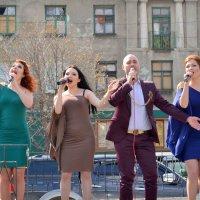 Концерт в Дебальцево :: Мария Коледа