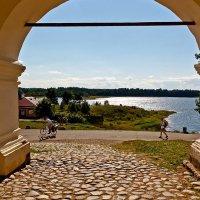 Вид на озеро из монастыря. Ферапонтово :: MILAV V