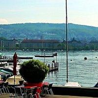 Цюрихское озеро :: Александр Корчемный