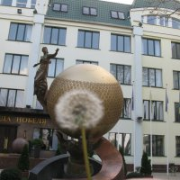 Одуванчик, претендующий на Нобелевскую премию... :: Алекс Аро Аро