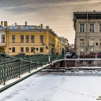 Почтамптский мост и Прачечный переулок** :: Valeriy Piterskiy