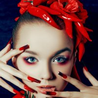 There is a shade of Red for every Woman :: Ruslan Bolgov