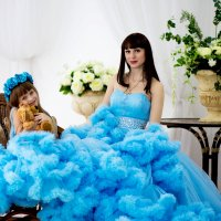 Анюта с лапочкой дочкой :: Viktoria Shakula
