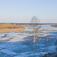 Начало ледохода. :: Андрей Синицын