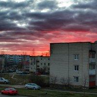 Вечернее небо :: Анатолий Клепешнёв