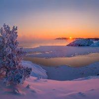 Мороз крепчает, вечер. :: Фёдор. Лашков