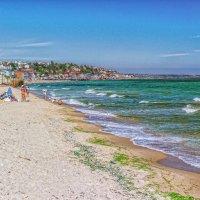 "Апрель на ""диком"" пляже. :: Вахтанг Хантадзе"