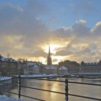 зимний вечер в Стокгольме :: Елена