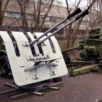 37 мм зенитная спаренная корабельная автоматическая пушка. :: Владимир Болдырев