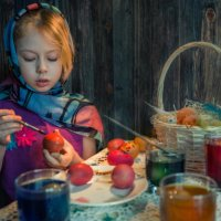 Скоро, скоро будет Пасха, на душе тепло :: Ирина Данилова