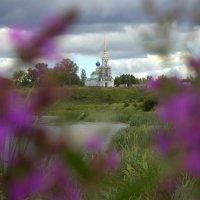 храм Иоанна Предтечи с Кибергино. :: Геннадий Тарасов