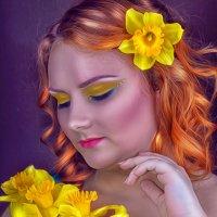 Девушка с нарциссами :: Kristina Ipatova