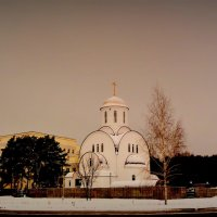 зимний храм :: Александр Прокудин