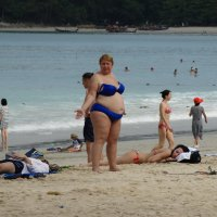 На пляжу :: svk