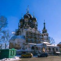 Старообрядческий храм Успения Пресвятой Богородицы :: Сергей Цветков