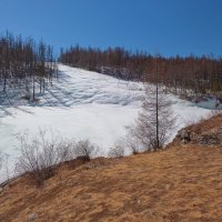 Ледник впадает в реку :: Анатолий Иргл