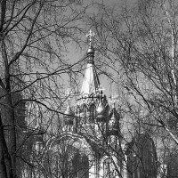 Церковь Воскресения в Сокольниках. 1980 г. :: Николай Кондаков