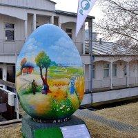 Пасхальное яйцо подарок Риге :: Swetlana V