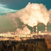 Индустриальный пейзаж :: Александр Дьяченко