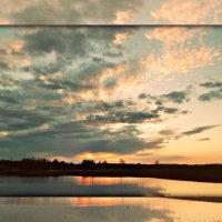 апрельский закат :: ВладиМер