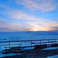 Морозный закат :: Юрий Николаев
