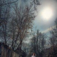 ДЕВУШКА С ЗОНТОМ :: Sergey Komarov