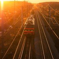 Прибытие поезда :: Дмитрий Костоусов