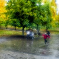 Осенний дворик :: Андрей Селиванов