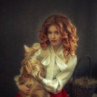 Девушка и кот :: Julia Barbashova