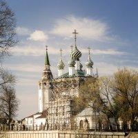 Троицкая церковь п.Холуй Ивановская область :: Елена Панькина