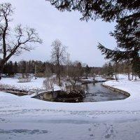 Снежный апрель :: Ирина Румянцева