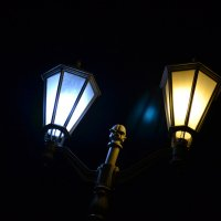 ночь, улица, фонарь :: Александр Солуянов