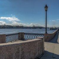 Прогулка по Университетской набережной :: Valeriy Piterskiy